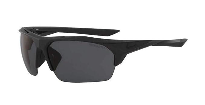 0404bfbc150 NIKE Mens Terminus Matte Oil Grey with Dark Grey Lens Sunglasses at ...