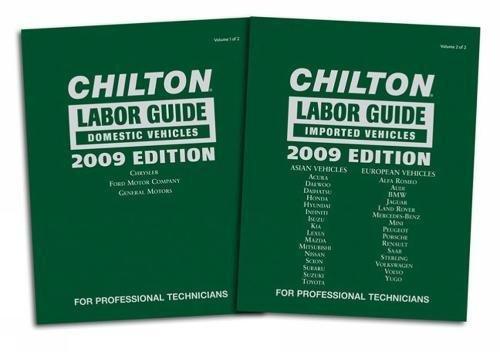 (Chilton 2009 Labor Guide Manuals: Domestic and Imported (Chilton Labor Guide))