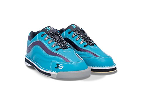 Bowlerstore Products 3G Ladies Sport Ultra Bowling Shoes Right Hand- Teal/Purple (7 1/2 M US, Teal/Purple)