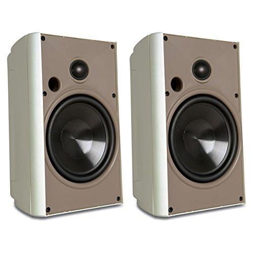 Proficient Audio Systems AW650WHT 6.5-Inch Indoor/Outdoor Speakers (White) (Discontinued by Manufacturer)