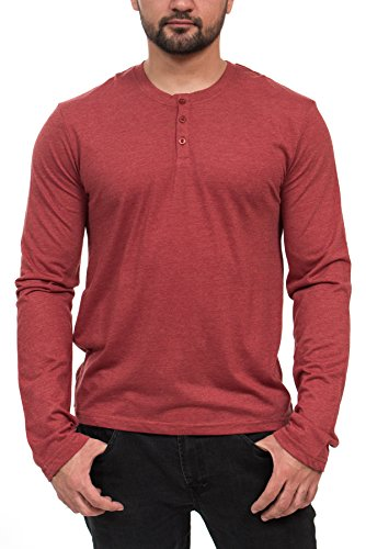 Henley 3 Button Sleeve Fashion T Shirt product image