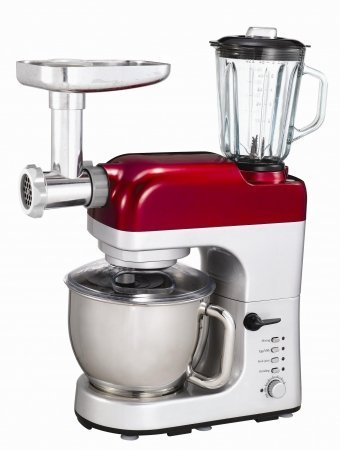 Frigidaire FD5125 All-in-One Mixer, Meat Grinder, Blender...
