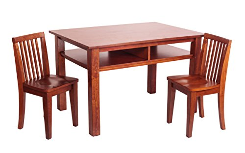 Athena Newton Table and Chair Set, Mahogany