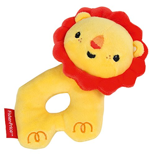 (Happy People Rattle, Grip Ring Lion Plush Toy (40931))