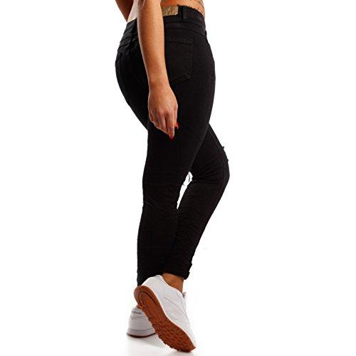 Nero Young Jeans Basic Donna skinny Fashion 7SSFxrX