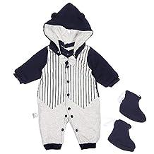 Newborn Snowsuit Baby Boy Winter Clothes,Infant Romper Infant Babies Jumpsuits