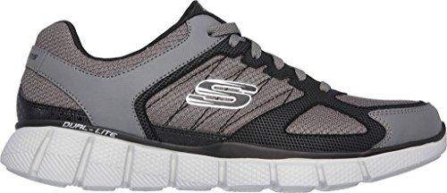 Skechers Hombres Equalizer 2.0 On Track, Carbón / Negro, Us 6.5 M