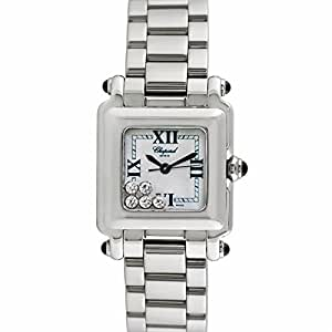 Chopard Happy Sport Square swiss-quartz womens Watch 27/8893/23 (Certified Pre-owned)