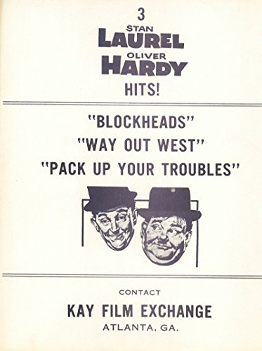 Laurel and Hardy Hits 1950's Herald