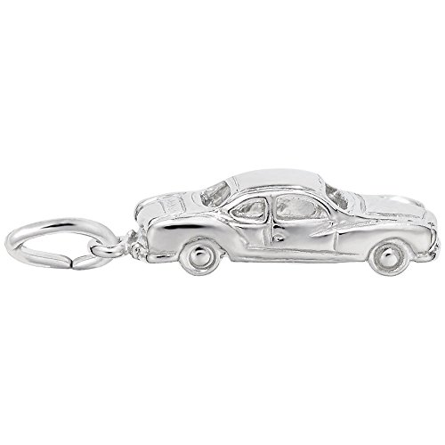 Car Charm In Sterling Silver, Charms for Bracelets and Necklaces ()