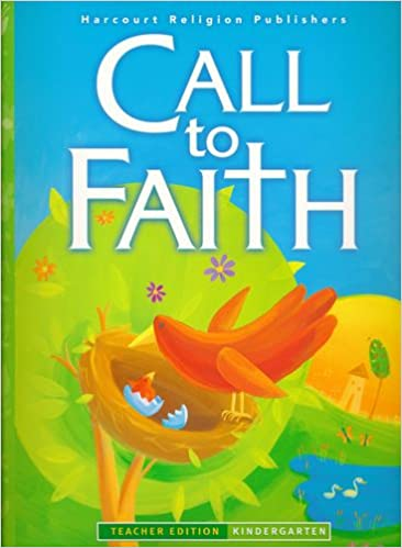 Book Call to Faith Grade K Catechist Edition