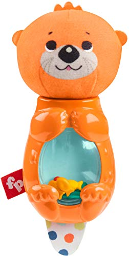 Fisher-Price Fisher-Price Hungry Otter Rattle (Stuffed Fisher Price Toy)