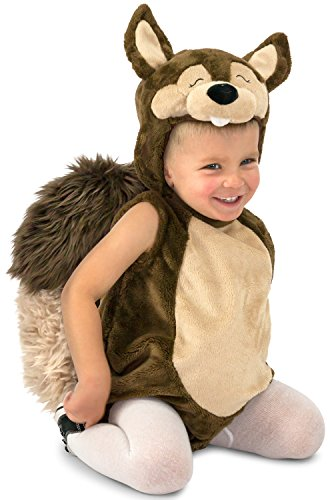 Princess Paradise Baby Nutty the Squirrel, Brown, (Infant Squirrel Halloween Costume)