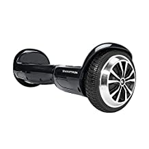 SWAGTRON T1 - UL 2272 Certified Hoverboard - Electric Self-Balancing Scooter Black