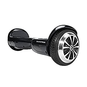 SWAGTRON T1 - UL 2272 Certified Hoverboard - Electric Self-Balancing Scooter – Your swag personal transporter awaits you. (Black)