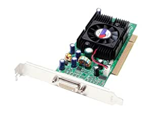 Jaton nVidia GeForce 5200 128MB DDR PCI Low Profile Support Dual VGA Video Card