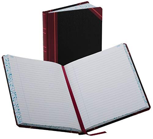 Boorum & Pease 38 Series Account Book, Black / Red (38-300-R) by Boorum & Pease