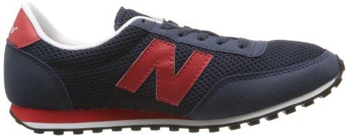 New Balance U410 D 14e, Unisex-Erwachsene Hohe Sneakers Blau (Blue/Red)