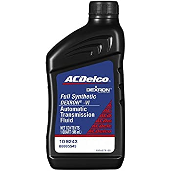 ACDelco 10-9243 Professional Dexron VI Full Synthetic Automatic Transmission Fluid - 1 qt