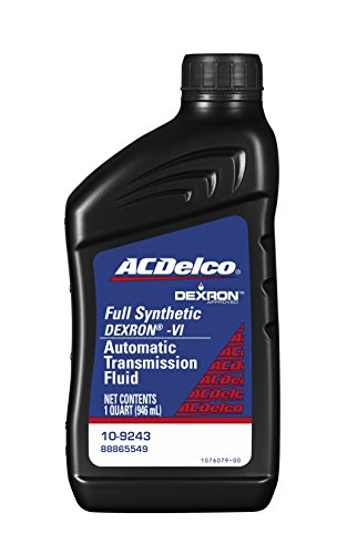 ACDelco 10-9243 Professional Dexron VI Full Synthetic Automatic Transmission Fluid - 1 qt Buick Riviera Automatic Transmission