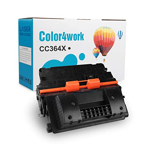 (COLOR4WORK Compatible 64X CC364X Toner Cartridge for MPS - 1 Pack Black, High Yield 24,000 Pages use for Laserjet P4015 P4015n P4015tn P4515 P4515n P4515dn P4515tn P4515x P4515xm Printer (Black))