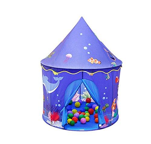 矩形ひどいペストリーZYH 屋内テント、チャイルドボーイマリンボールプールゲームハウスキャッスルテントベイビーオーシャントイルーム誕生日プレゼント100 * 130CM 広いスペース (色 : A)
