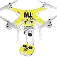 Skin For DJI Phantom 3 Professional – All Hives Matter | MightySkins Protective, Durable, and Unique Vinyl Decal wrap cover | Easy To Apply, Remove, and Change Styles | Made in the USA