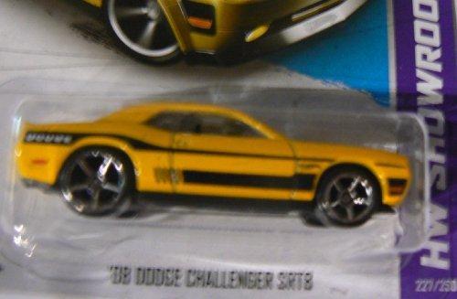 Hot Wheels HW Showroom 227/250 '08 Dodge Challenger SRT8 Yellow with Wheel Variation (227 Of Cast)