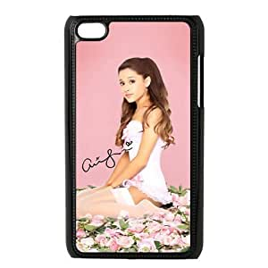 Customize American Famous Singer Ariana Grande Back Case for ipod Touch 4 JNIPOD4-1448