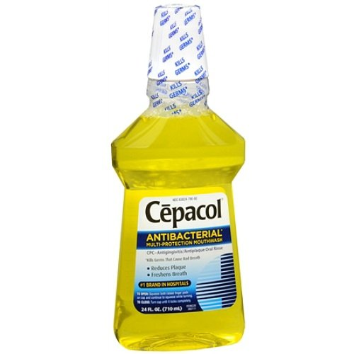 (Daily Oral Care Cepacol Antibacterial Mouthwash Gold (24 fl oz x 3 ea))