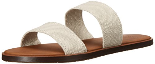 Sanuk Women's Yoga Gora Sandal, Natural, 07 M US