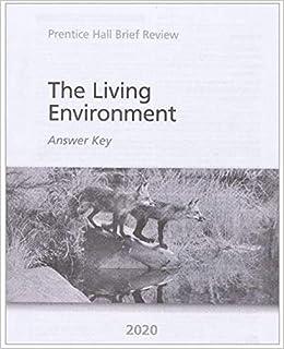 2020 New York Living Environment Answer Key: 2020LivingAK ...