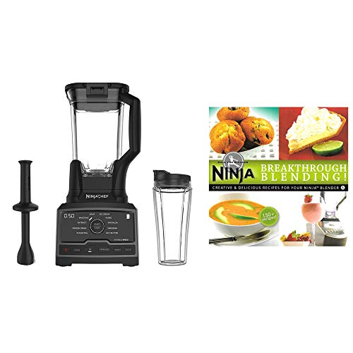 Ninja Chef 1500W High Speed Blender Mixer Processor Duo & Cup with 150 Recipes