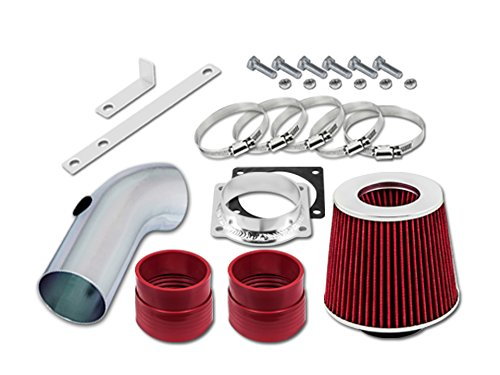 Velocity Concepts Red Short Ram Air Intake Kit + Filter 92-95 For For Crown Victoria 4.6 V8