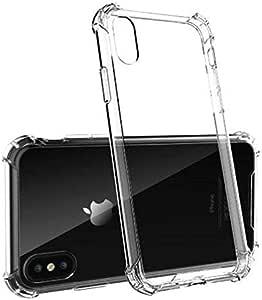iPhone XS MAX Case,Clear Anti-Scratch Bumper Shock Absorption Cover Case Compatible iPhone XS MAX