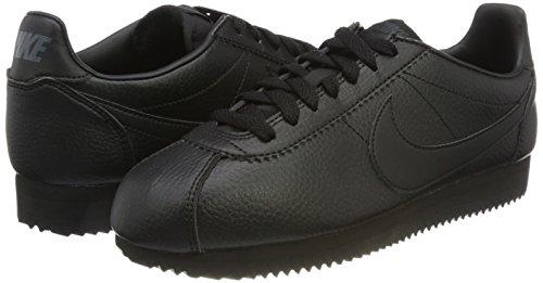 black Herren Sneaker Leather Black Leder anthracite Classic Nike Cortez Schwarz Schwarz zxRBUqqS