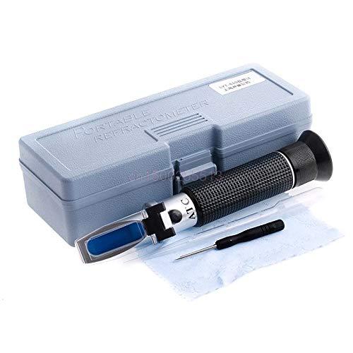 Salinity Refractometer Meter Water Reader Marine 0~10% Salt Aquarium Test Tester by MiZOELEC (Image #2)