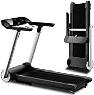 Ovicx Foldable Treadmills for Home - Heavy Duty Portable Folding Compact Small Thin Electric Fold Up Lightweig