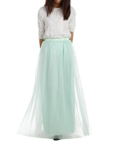 [해외]드레스 롱 롱 Tulle Skirt Maxi 쉬폰 페티코트 댄스 파티 가운 Two Way 정장 스커트/DRESSTELLS Long Tulle Skirt Maxi Chiffon Petticoat Prom Gowns Two Way Formal Skirt
