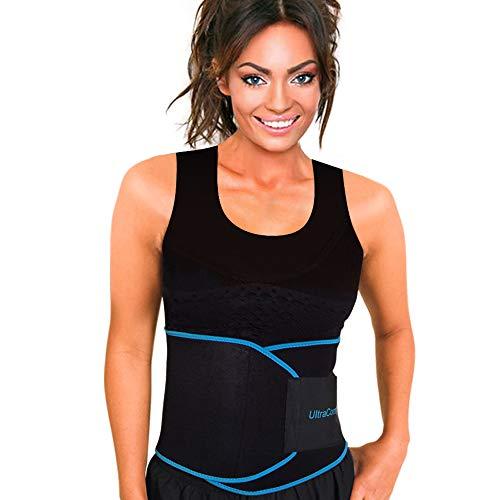 Waist Trimmer Waist Cincher Sweat Belt, Waist Trainer corset for Weight loss by UltraComfy (Belt Waist Neoprene)