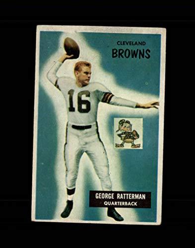 1955 Bowman Football #150 George Ratterman STARX 4 VG/EX CS49925