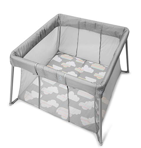 Skip Hop Portable Playard: Play To Night Expanding Travel Crib To Playard