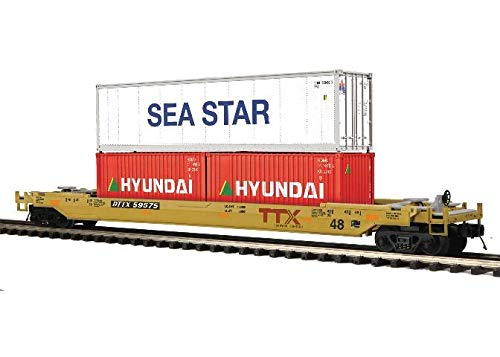 MTH TRAINS; MIKES TRAIN HOUSE TTX (SEA Star) Husky Stack CAR