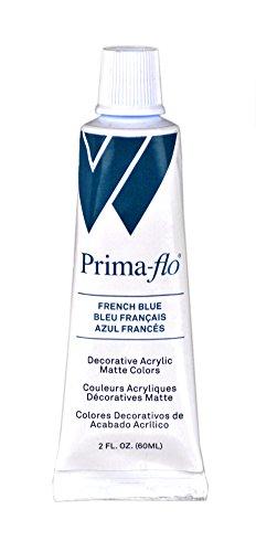 Weber Primaflo Acrylic Matte, 60ml, French Blue - Flow Blue Pottery