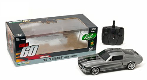 Greenlight Gone in Sixty S (2000) - 1967 Ford Mustang Eleanor 2.4 Ghz Remote Control (1:18 Scale) Vehicle - Car Controlled Radio Games