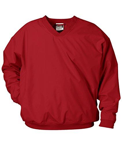 Badger Sport Microfiber Windshirt - 7618 - Red - Large