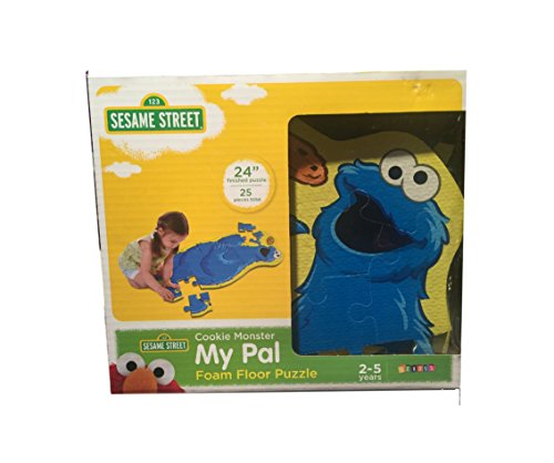 Sesame Street Cookie Monster My Pal Foam Floor