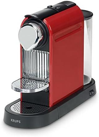 Krups XN7205 - Cafetera automática 120 W, color negro y rojo: Amazon.es: Hogar