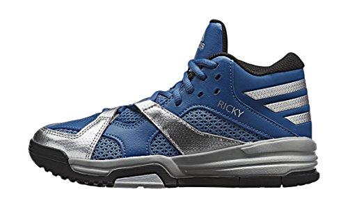 adidas First Step K, Zapatillas de Deporte Exterior Unisex Bebé Azul / Plata / Negro (Azucap / Plamet / Negbas)