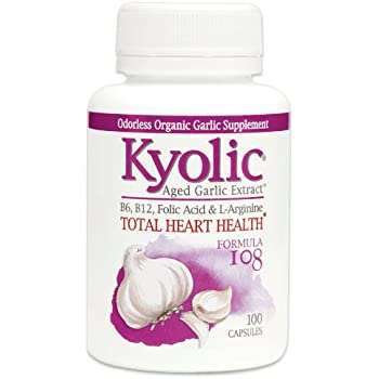 Kyolic Formula 108 Aged Garlic Extract Total Heart Health (100-Capsules)
